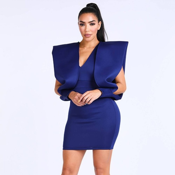 Dresses & Skirts - Super Shoulder Super Techno Dress